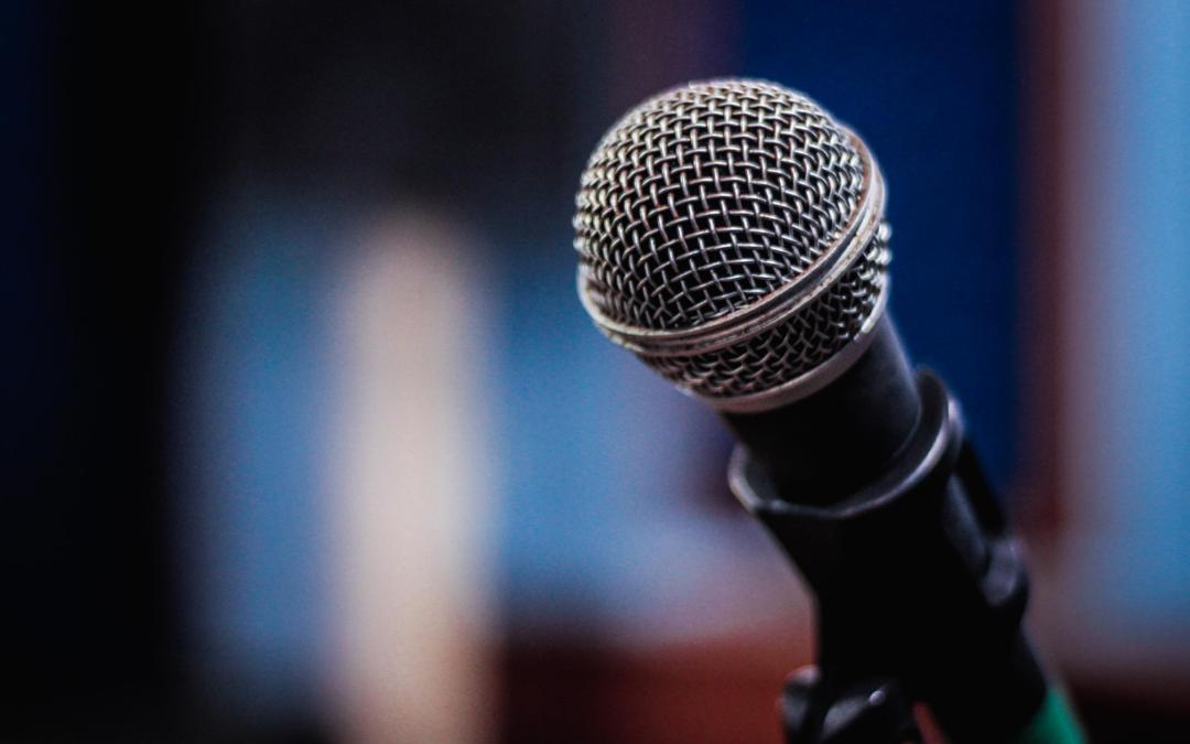 Microfoon waarmee je kunt zingen