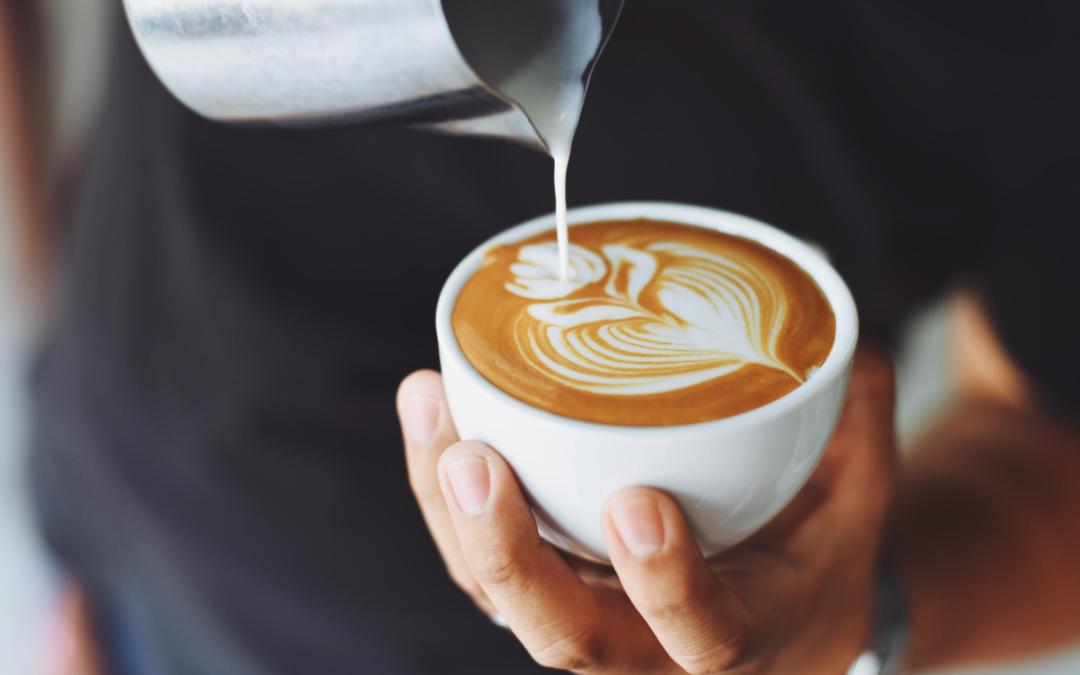 Cappuccino als symbool voor ontspanniing